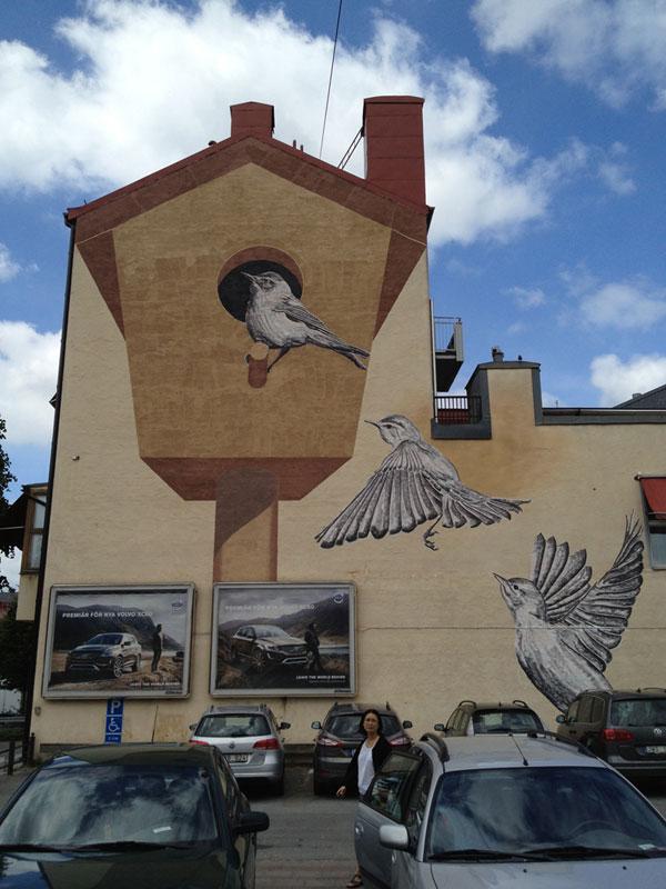 Orebro Bird House