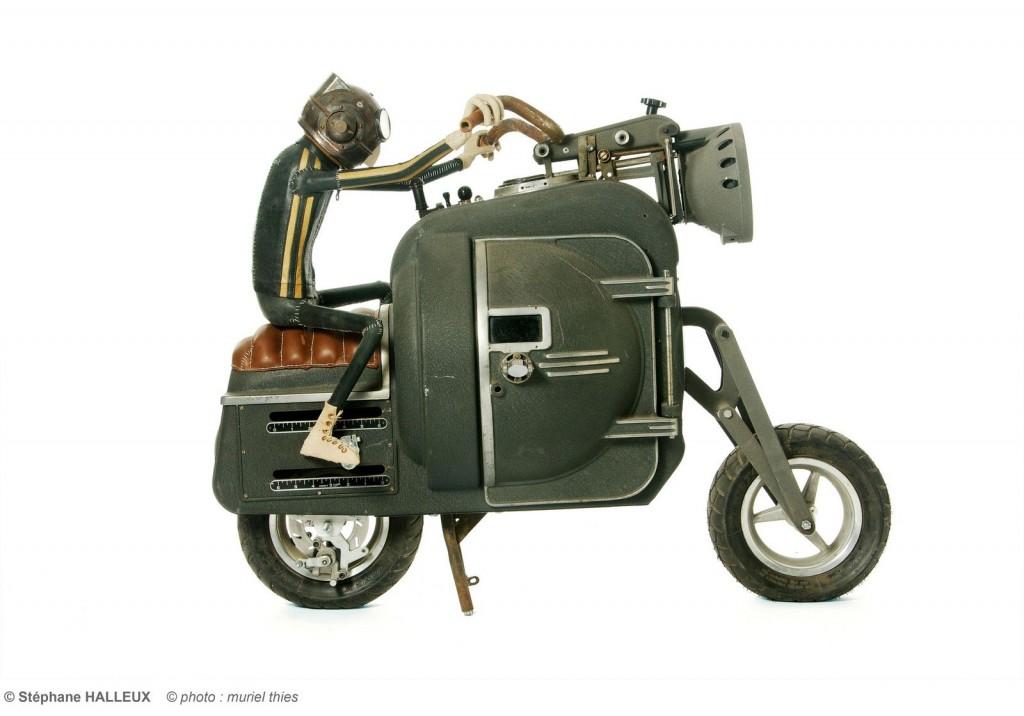 Moto Steampunk S.Halleux