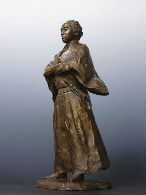 Statut de Bronze du samourai Sakamoto Ryoma