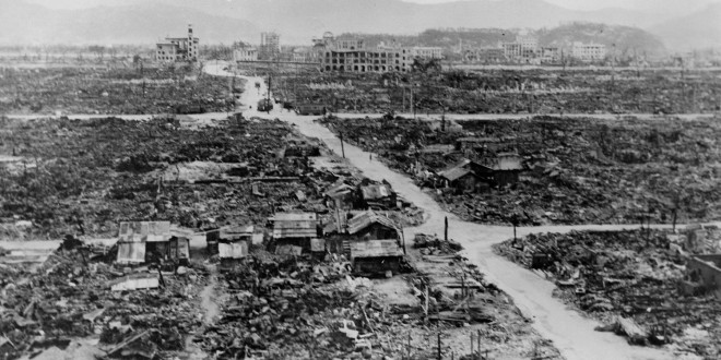 Nagasaki - Image après la bombe de 1945