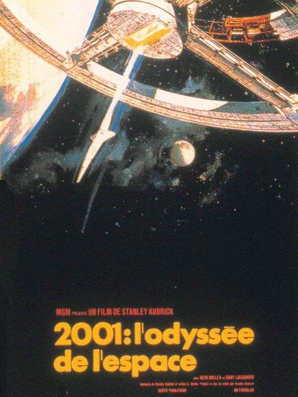 affiche film - 2001 odyssée espace
