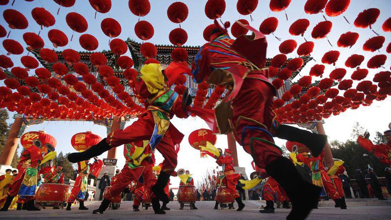 Pekin - Photo de vacances du nouvel an
