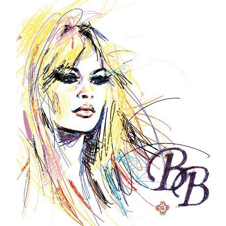 Brigitte Bardot - BB - fleur