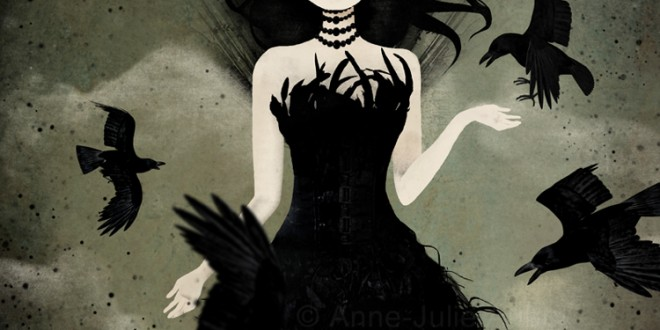 the-Queen-of-crows - ANNE JULIE AUBRY