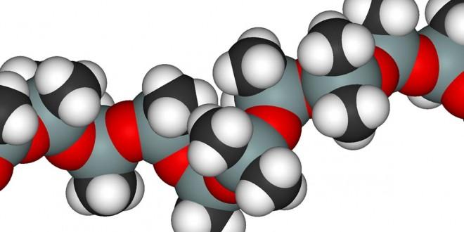 Silicone - Molécules en 3D