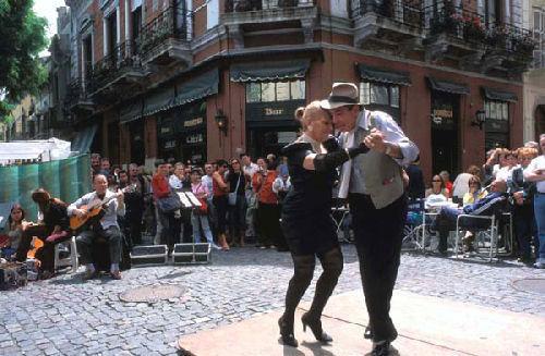 Photo de San Telmo et Rue de Buenos Aires en Argentine