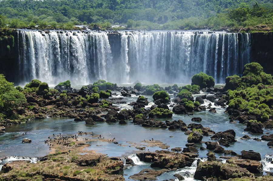chutes Igazu au Brésil