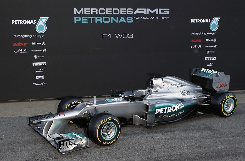 Mercedes F1 Petronas