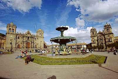 Place d'armes a cuzco