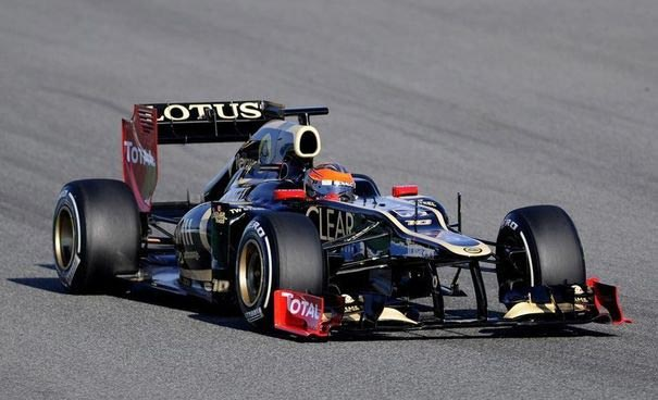 Grosjean F1