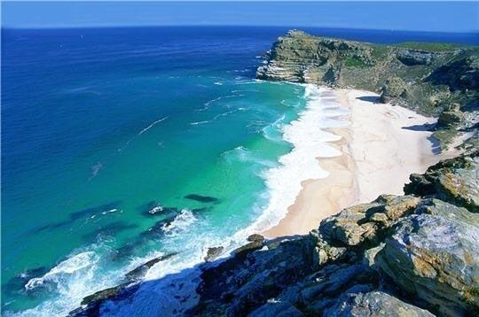 Grande plage du Cap de bonne espérance