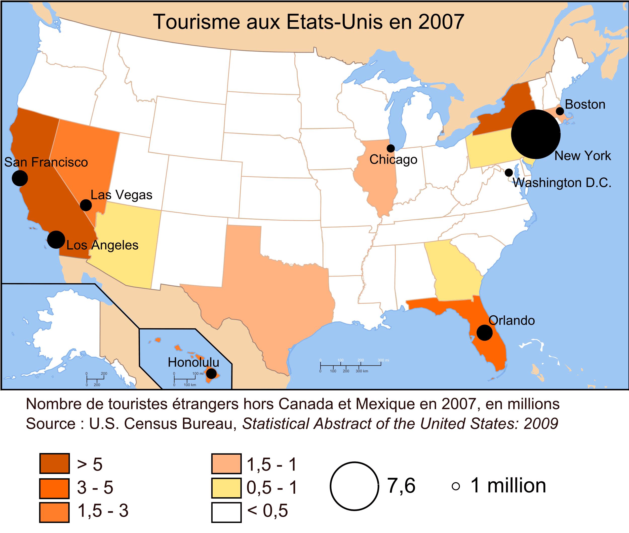Sites touristiques – USA