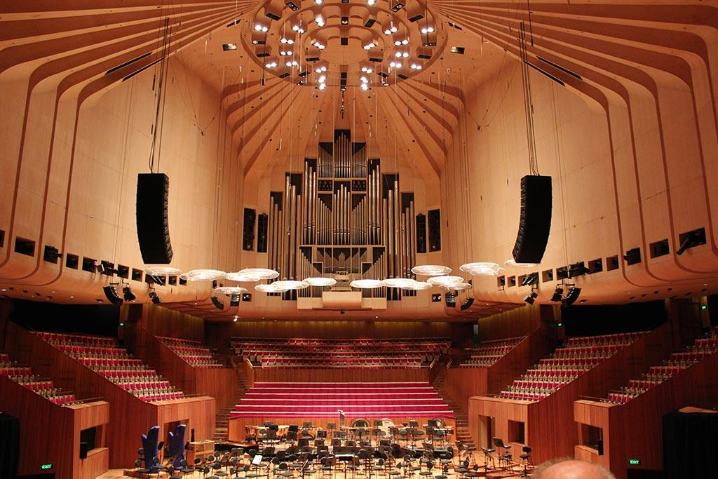 Opéra Sydney - Intérieur