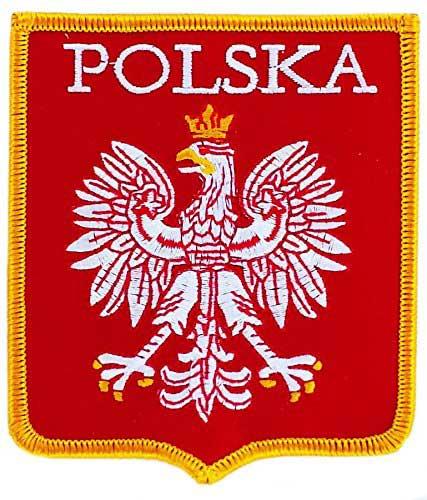 Embleme du drapeau de la Pologne