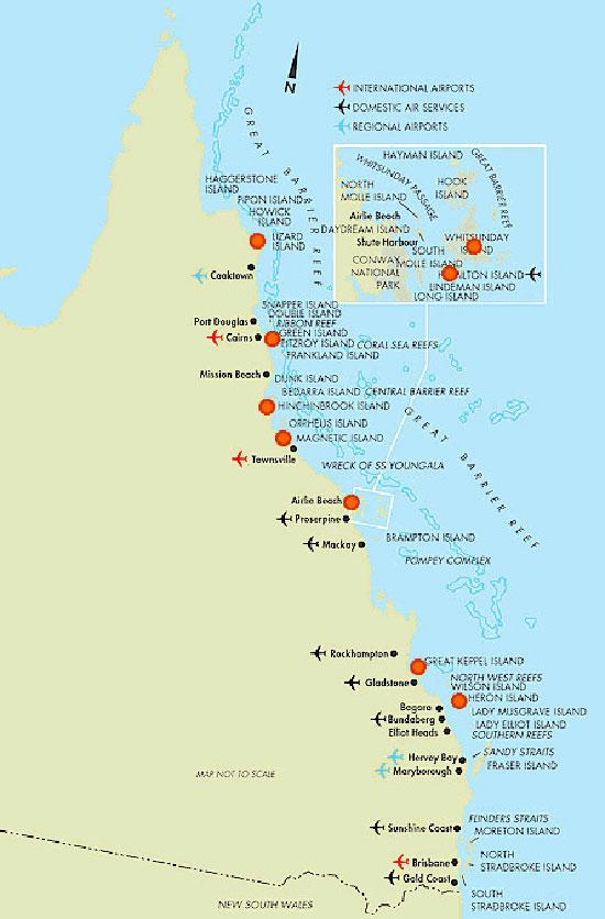 Carte Australie Grande Barriere De Corail.Decouverte De La Grande Barriere De Corail Australienne