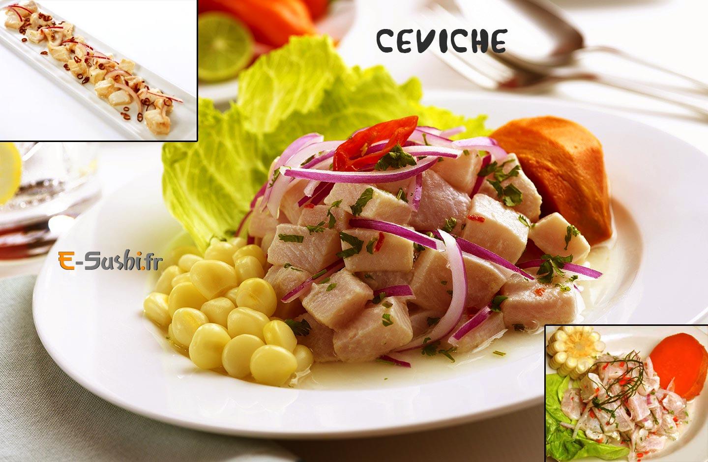 Ceviche plat p ruvien arts et voyages for Art et cuisine tahiti