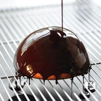glaçage chocolat - Photo
