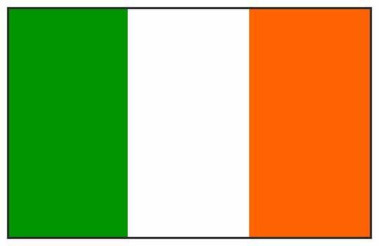 Irlande – Drapeau