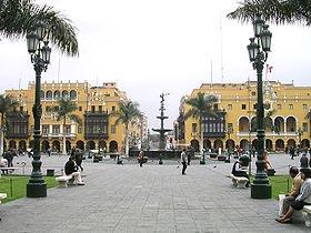 Un Square à Lima