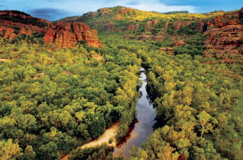 kakadu national park - photo panoramique