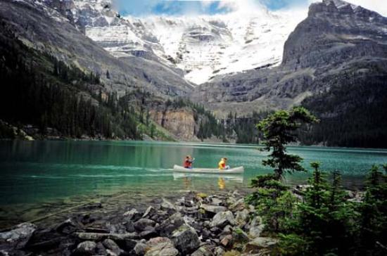 Jasper - Un lac en montagne