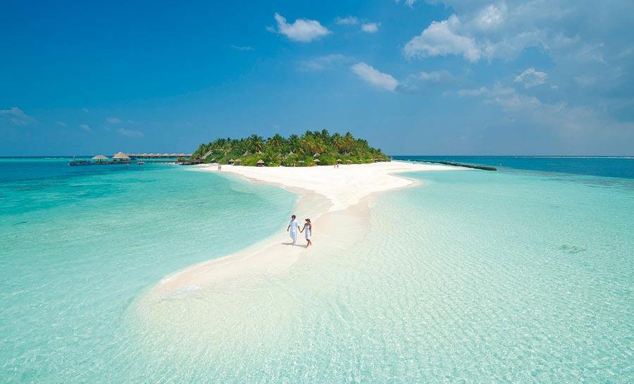 Nilandhe - Atoll des Maldives