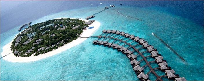 Vacances de luxe aux maldives