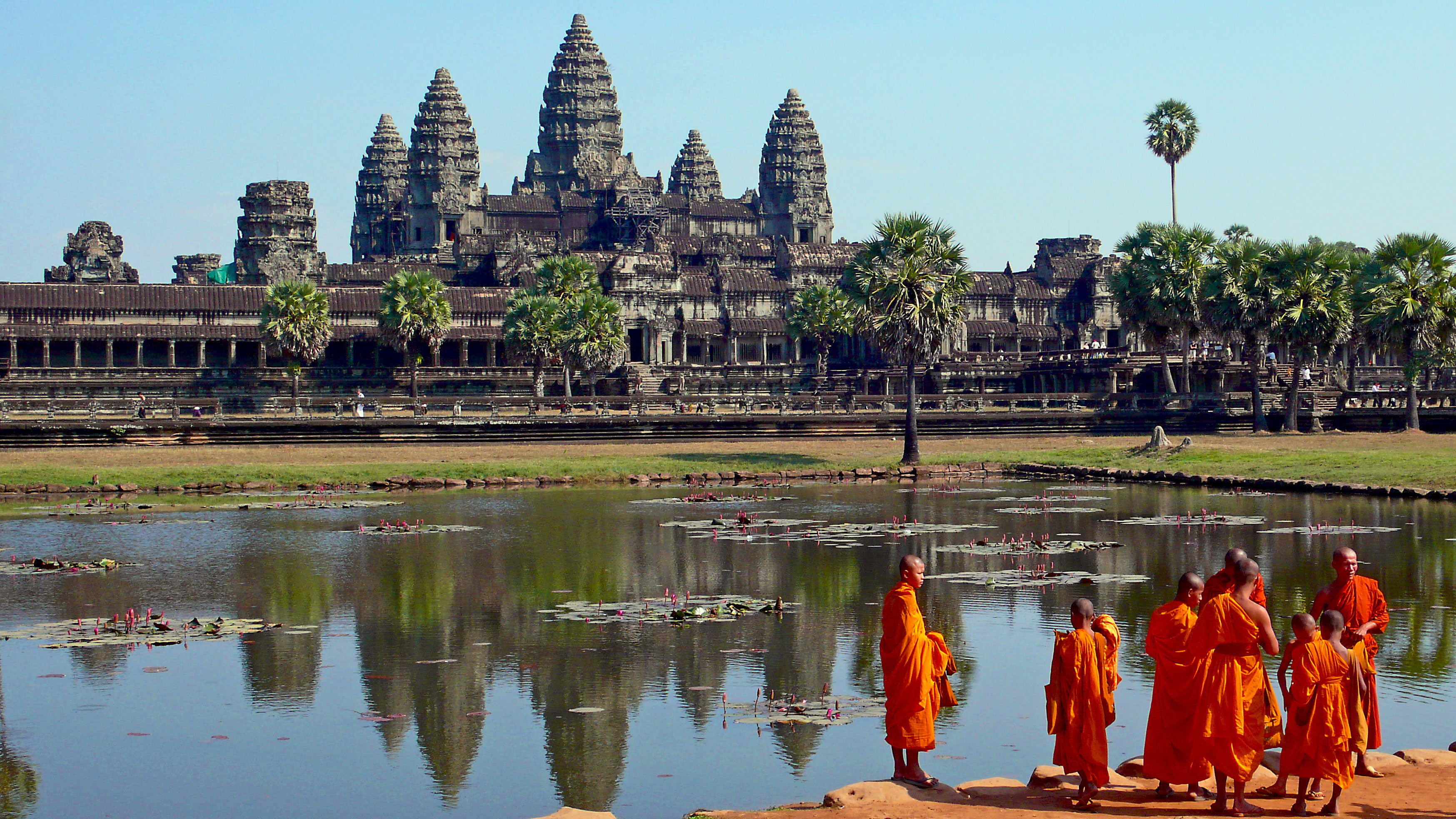 Temple Bouddhiste Angkor