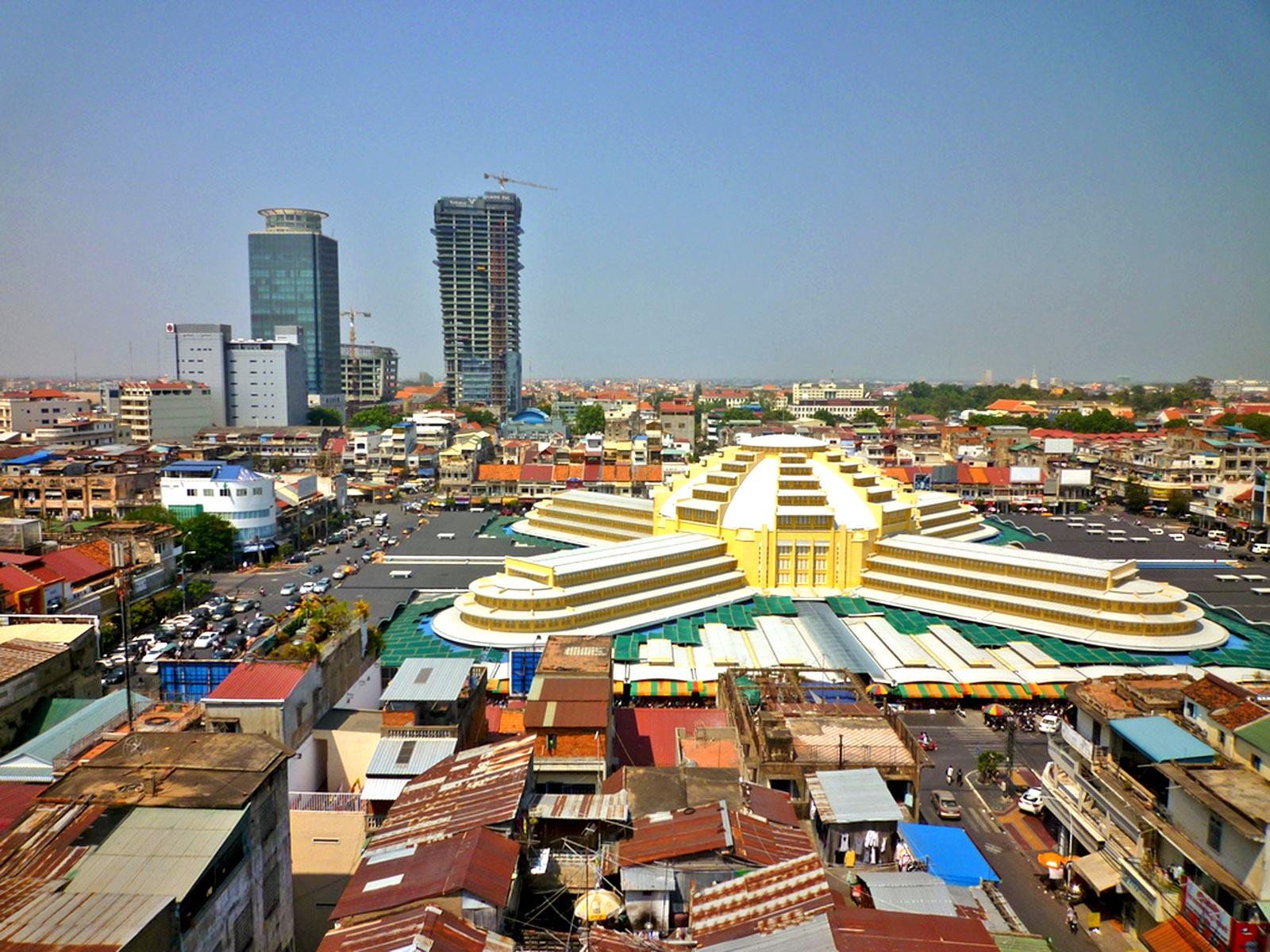 Phnom-Penh centre ville