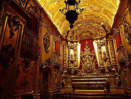 monastère de Saint Benoit à Rio de Janeiro