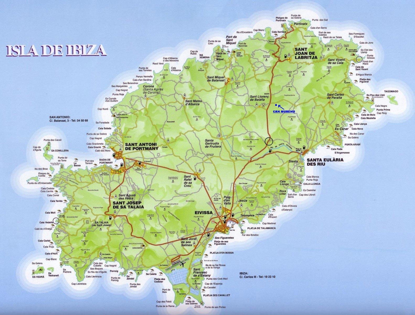 Ibiza Carte