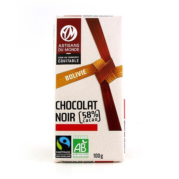 Chocolat noir équitable