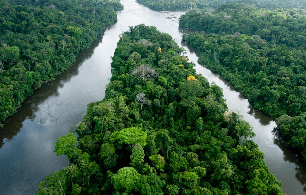 Paysage de Guyane - Tourisme solidaire
