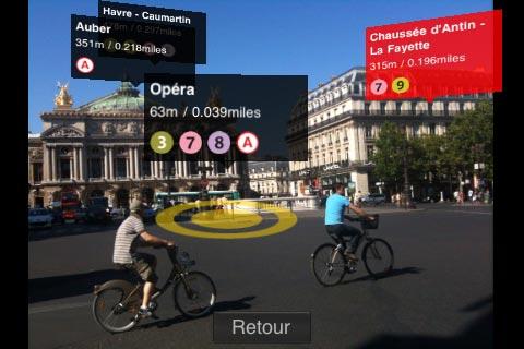 le métro de Paris en réalité augmentée