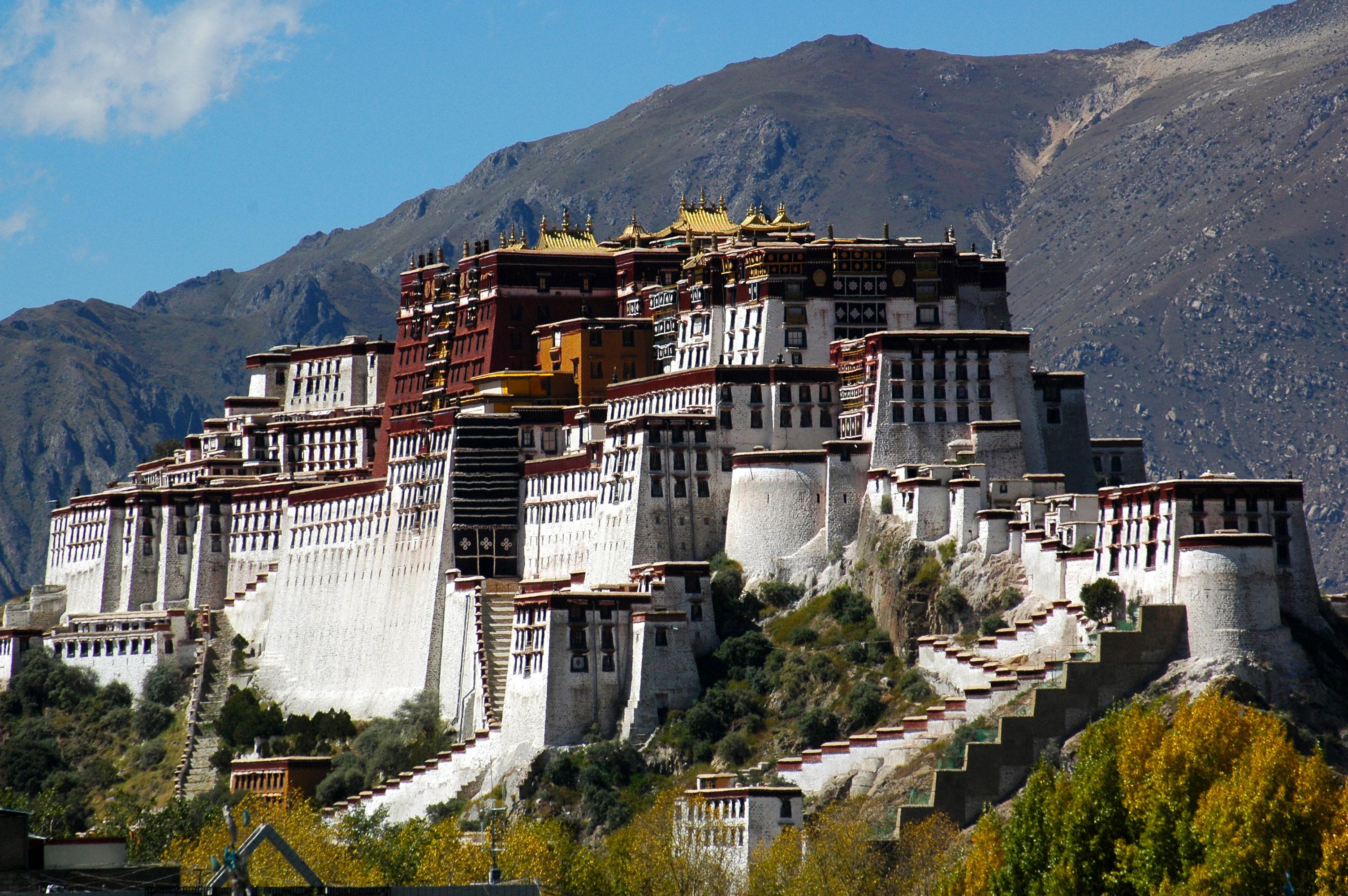 Tibet - Lhasa ville du Potala