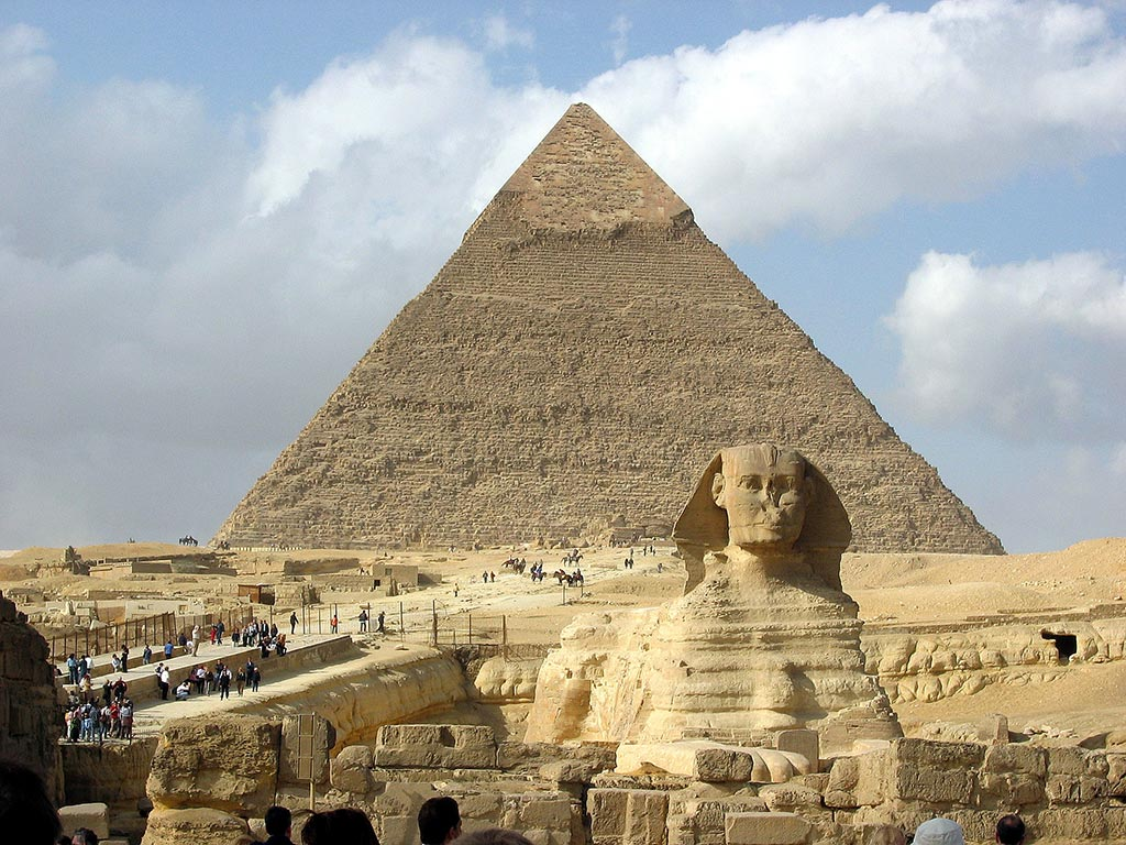 Sphinx et Pyramide de Gizeh