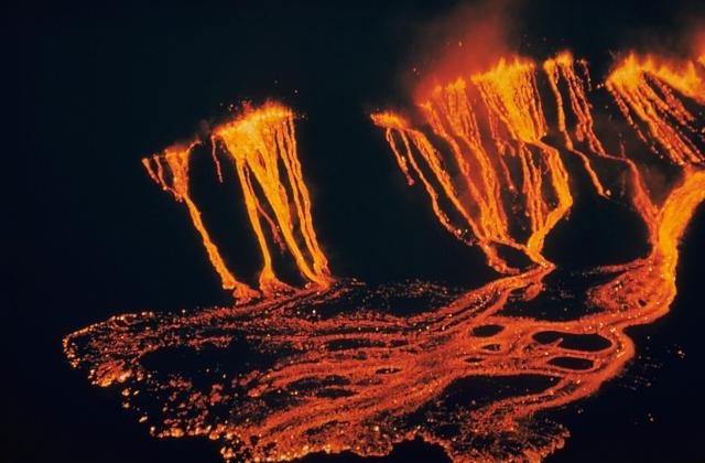 Kilauea - Laves du volcan hawaien
