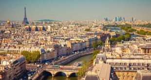 Vue de Paris panoramique