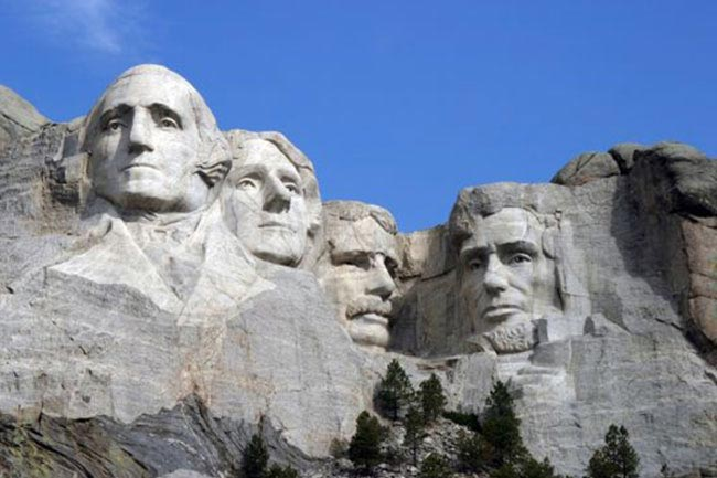 Mont Rushmore Memorial – Sculptures