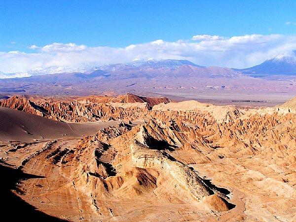 Photo du désert Atacama - Perou