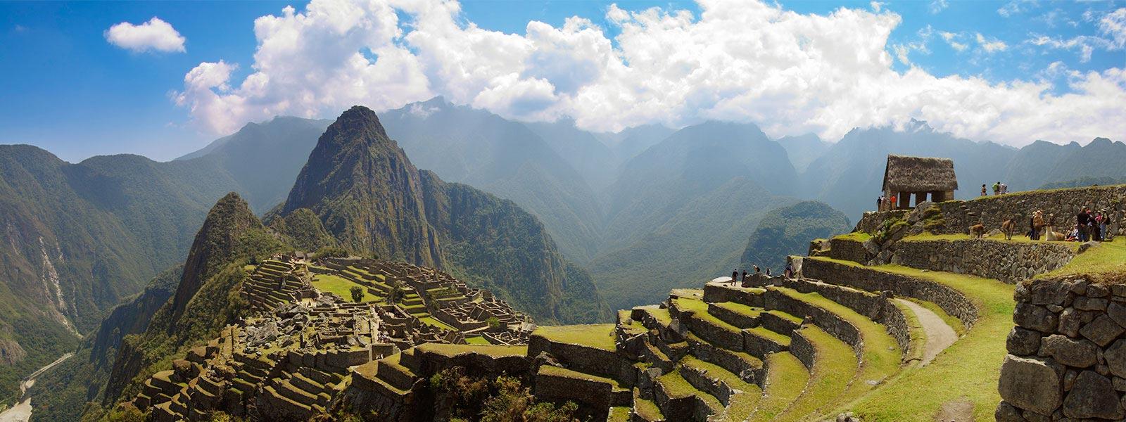 Image panoramique du Machu Picchu