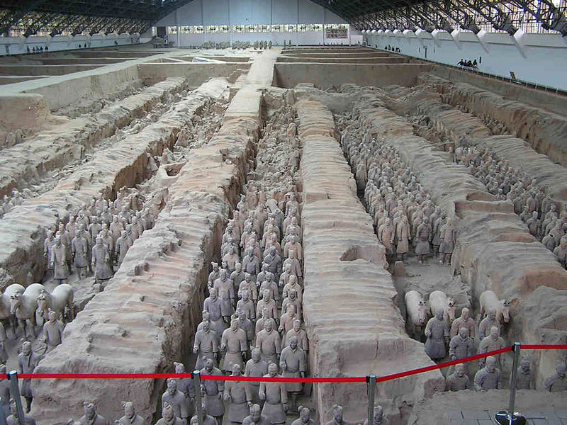 guerriers - armée chinoise en terre cuite de xian