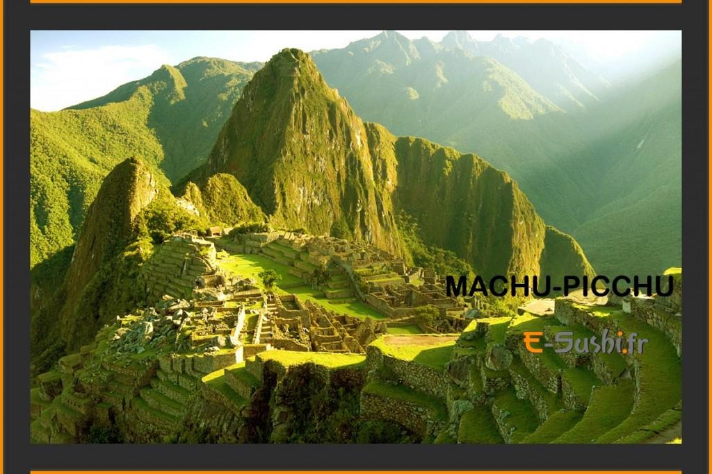 Photo du Machu-Picchu - Voyage au Pérou