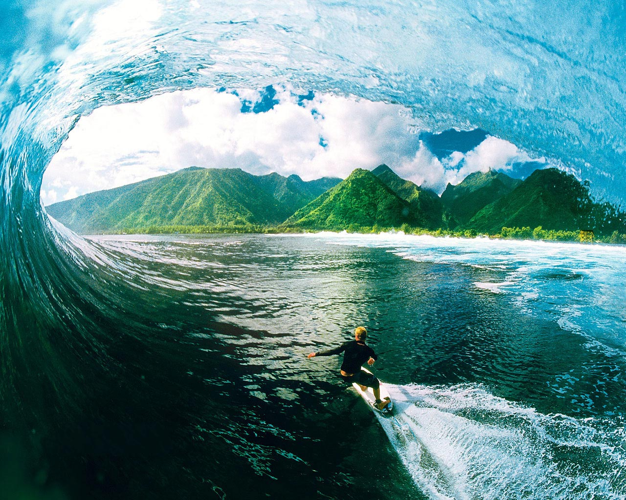 Surf à Hawaii