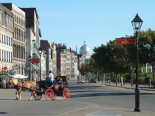Photo du Vieux Montréal