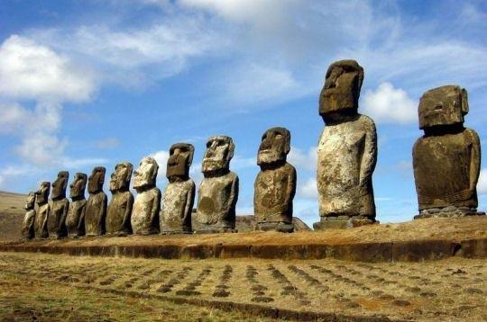Moaï - Ile de Paques