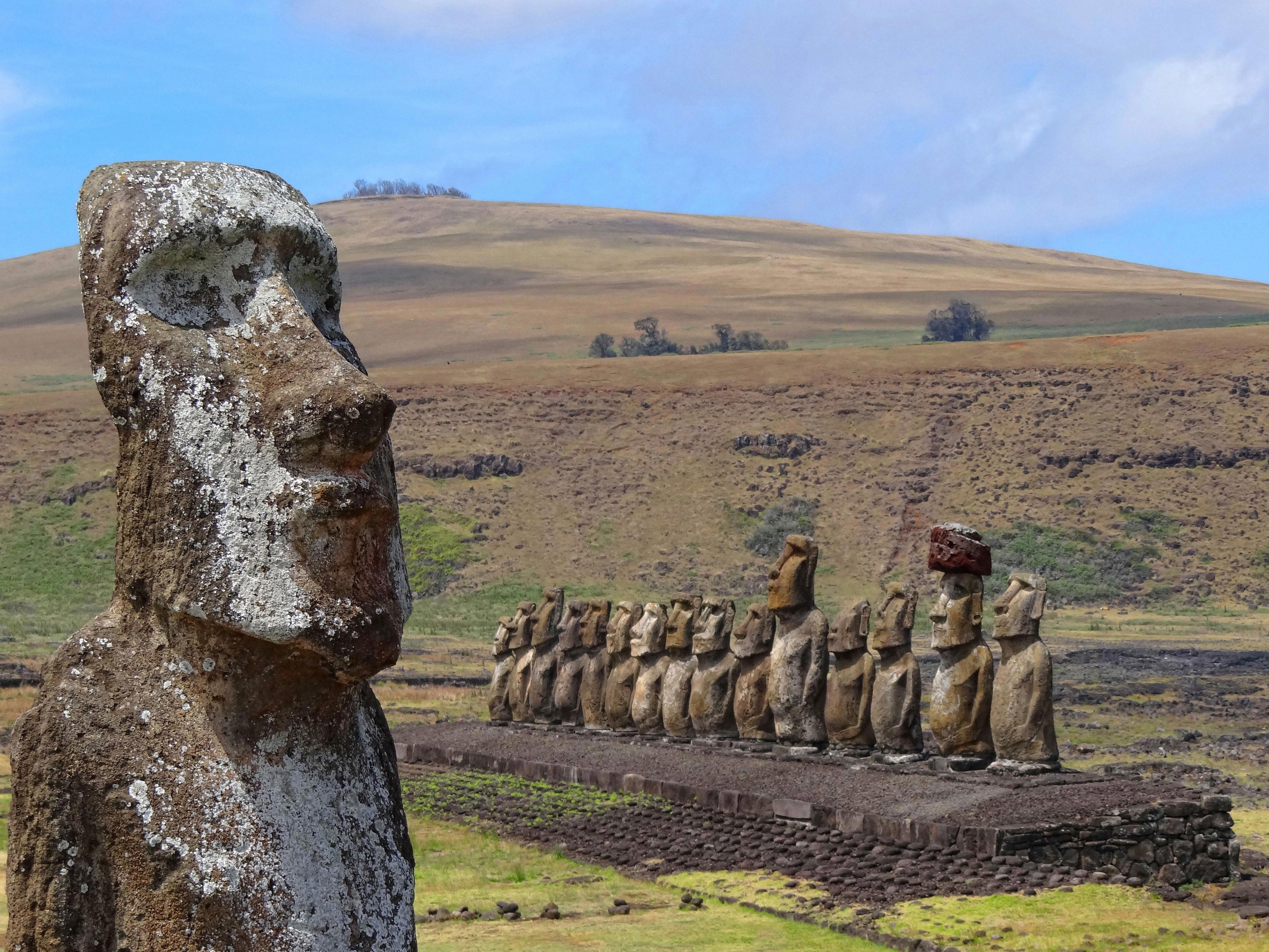 Ahu Tongariki - Moai