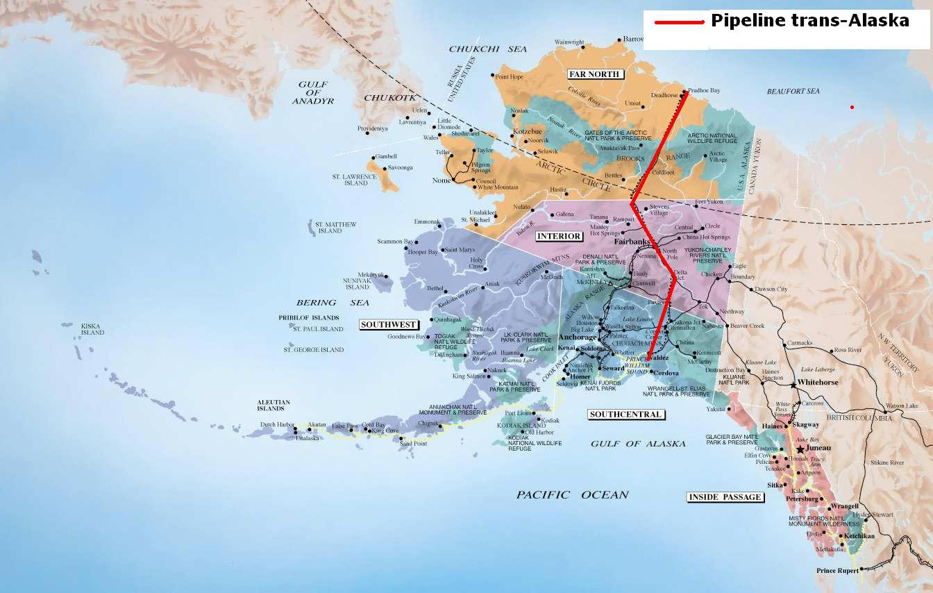 Alaska - Carte