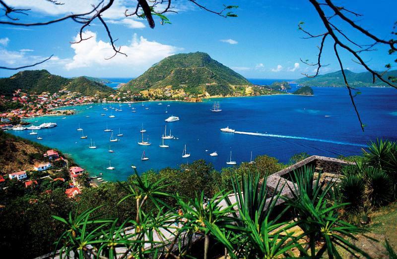 Baie des saintes en Guadeloupe