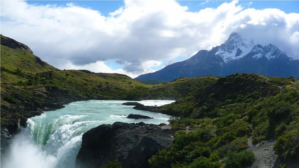 Paysage de montagne - Patagonie